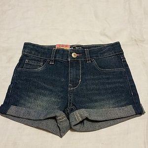 Levi's girls shorty shorts